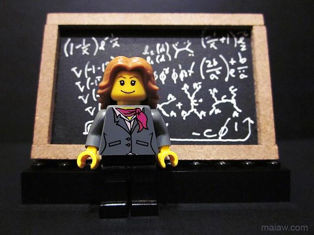 @lirarandall (lisa randall) in LEGO by pixbymaia