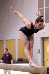 TWU Gymnastics - Beam - Bethany Larimer
