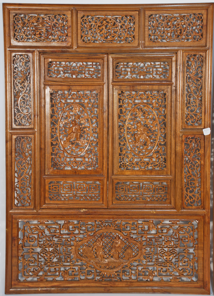 Carved Wooden Screens Room Dividers