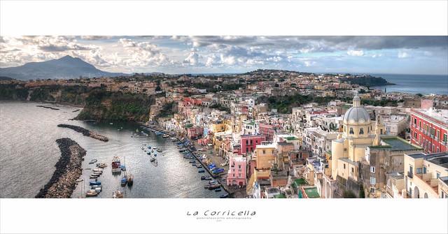Procida - Marina Corricella :: HDR Panorama