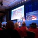 Rick Santorum on stage at CPAC 2011