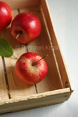 The last apples from the box