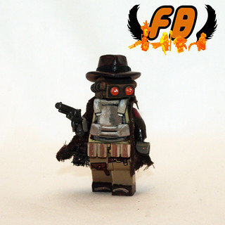 Paranormal Gunslinger figure
