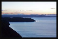 Winter sunset oer Waternish n' Loch Snizort