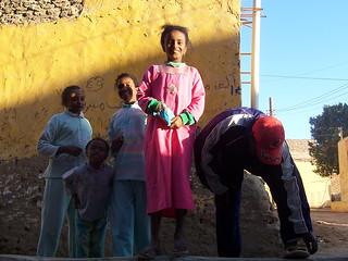 Kids in Luxor, Egypt