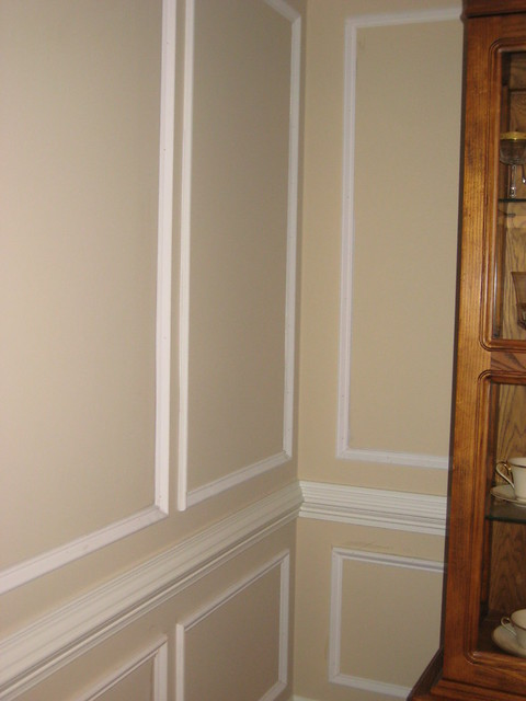 chair rail and simple wainscoting ideas