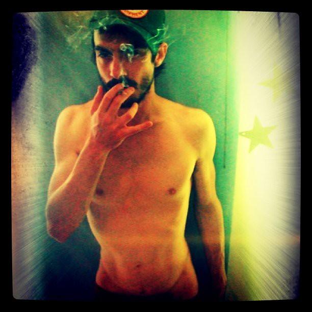 Bad smoker boy #hot #gay #iphoneography #hipstamatic