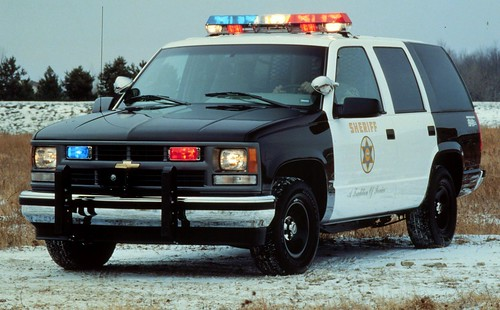 Chevrolet Tahoe Police Package SUV