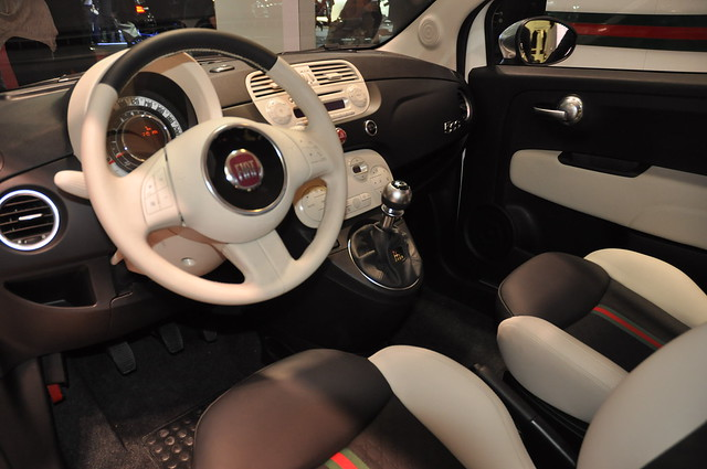 fiat 500 by gucci interior flickr photo sharing. Black Bedroom Furniture Sets. Home Design Ideas