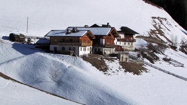 Schneeschmelze in Gaspeneid - Jaufental