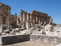 The Great Court at Baalbek (III)