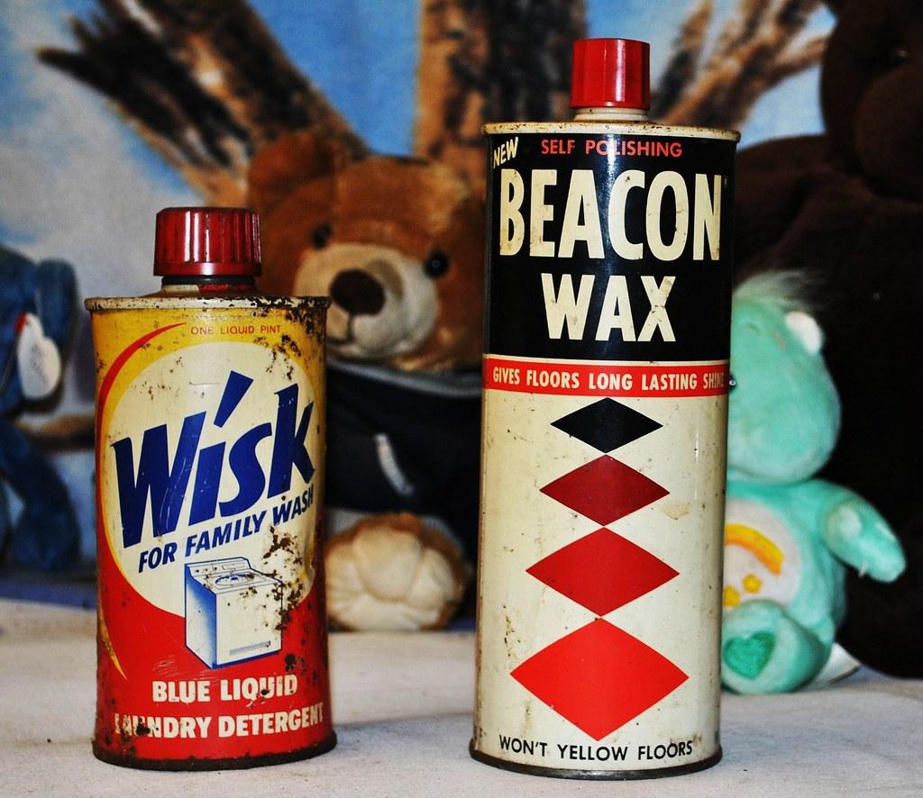 Wisk Detergent U0026 Beacon Wax