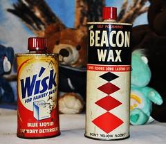 Wisk Detergent & Beacon Wax