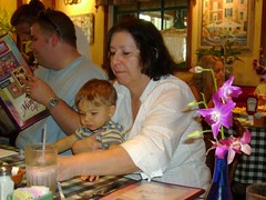 Christine and Ryan, Grandson