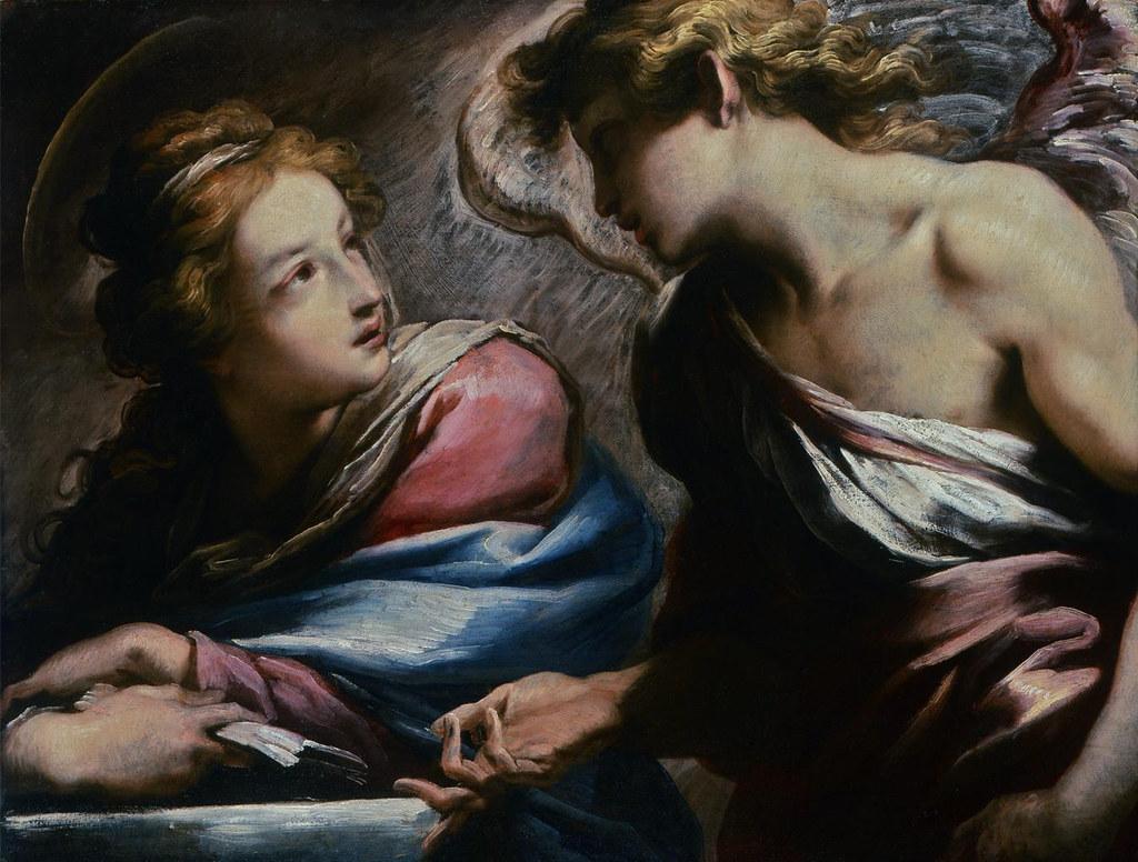 Daniele Crespi -  Annunciation (1620)