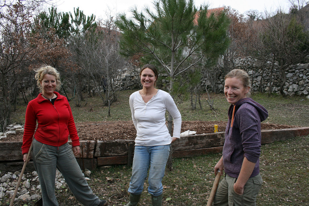 Land Army Girls