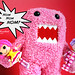 Breaking News: Pink Domo Attacks! by Happily Candied