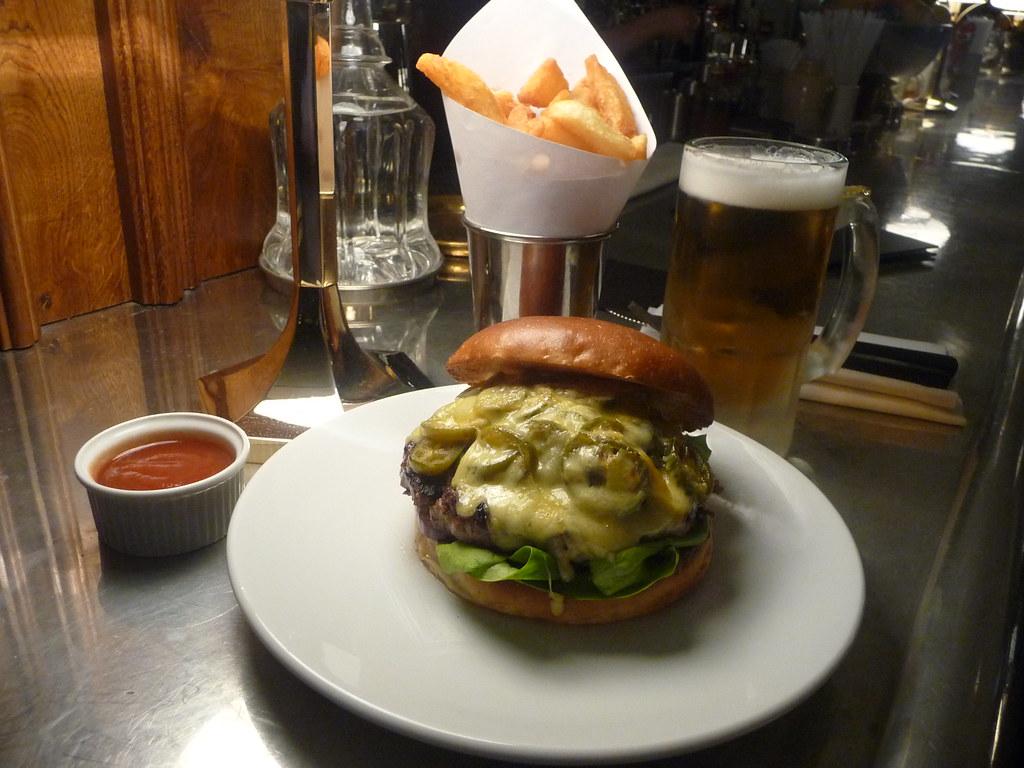"""Hawksmoor """"bobcat burger"""""""