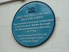 Photo of Red Cow Inn, Haslemere blue plaque