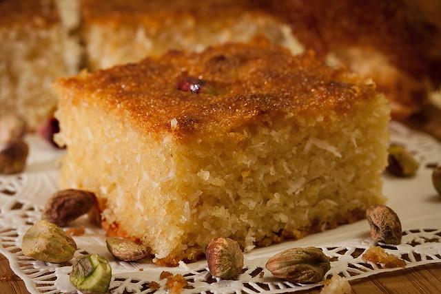 Basboosa Egyptian Dessert Flickr Photo Sharing