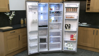 RSG5DUMH Samsung American Fridge Freezer