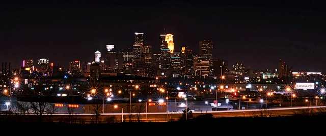 Minneapolis Night Lights