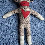 Silhouette Sock Monkey