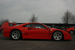 ferrari 288 gto(0.0), ferrari 348(0.0), ferrari f355(0.0), race car(1.0), automobile(1.0), wheel(1.0), vehicle(1.0), performance car(1.0), automotive design(1.0), ferrari f40(1.0), ferrari s.p.a.(1.0), land vehicle(1.0), luxury vehicle(1.0), supercar(1.0), sports car(1.0),