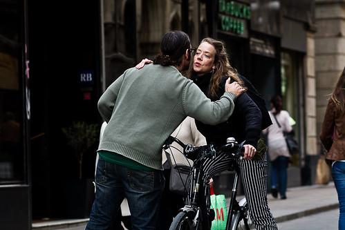 La bici permite encuentros
