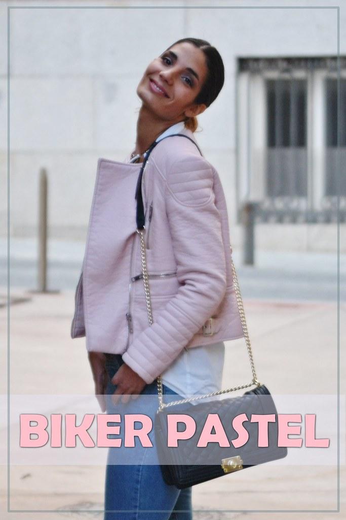 biker pastel