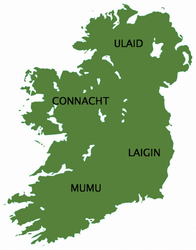 The Provinces of Ireland