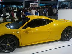 automobile(1.0), wheel(1.0), vehicle(1.0), ferrari 458(1.0), performance car(1.0), automotive design(1.0), auto show(1.0), land vehicle(1.0), luxury vehicle(1.0), coupã©(1.0), sports car(1.0),