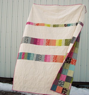 Hope Valley Quilt back