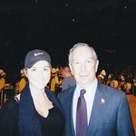 Andrea Correale and Michael Bloomberg