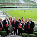 Labour candidates at the Aviva Stadium