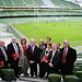 Labour candidates at the Aviva Stadium
