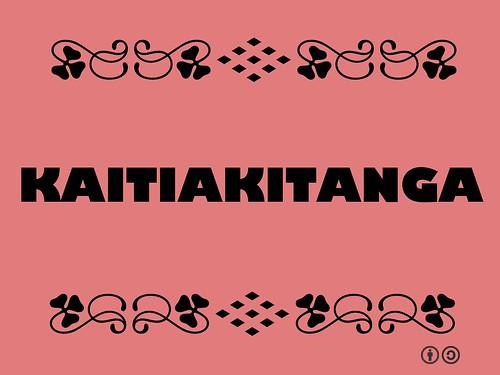 Buzzword Bingo: Kaitiakitanga = Guardianship of the environment that supports us