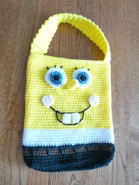 Free Crochet Pattern Spongebob Hat : Crochet Spongebob Pattern