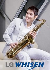 string instrument(0.0), tuba(0.0), trombone(0.0), slide guitar(0.0), western concert flute(0.0), euphonium(0.0), bass guitar(0.0), woodwind instrument(1.0), trumpet(1.0), baritone saxophone(1.0), saxophonist(1.0), brass instrument(1.0), wind instrument(1.0),