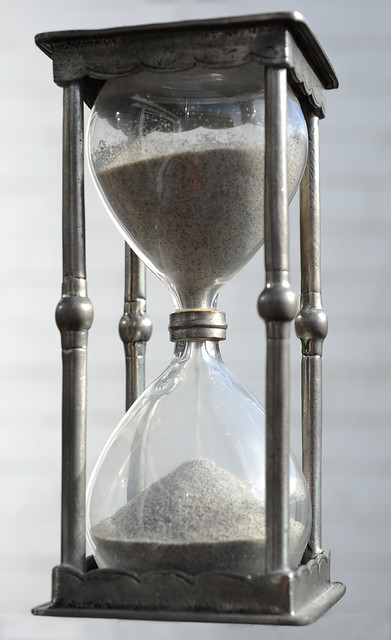 See as time goes by ...