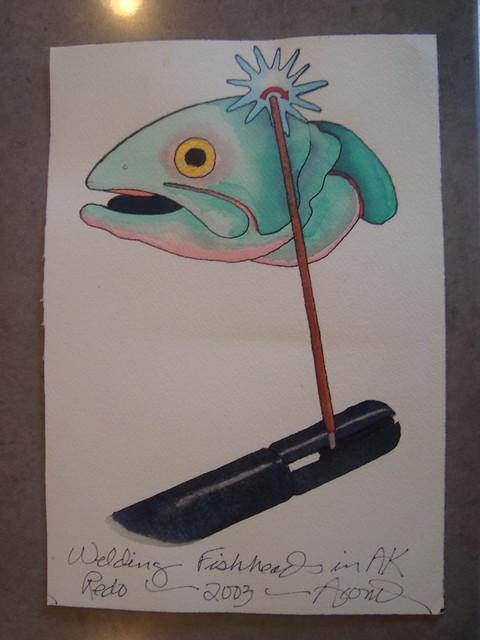 """""""Welding Fishheads in AK - Redo"""" 2003"""