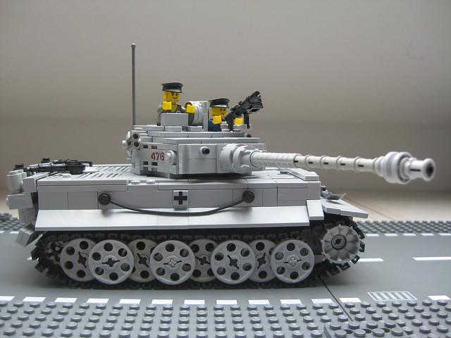 LEGO MOC-16096 Custom WW2 German Kingtiger Tank PzKpfw VI ...