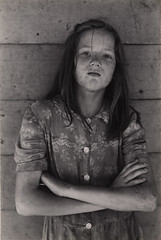 Young girl, Kentucky, 1971, by William Gedney