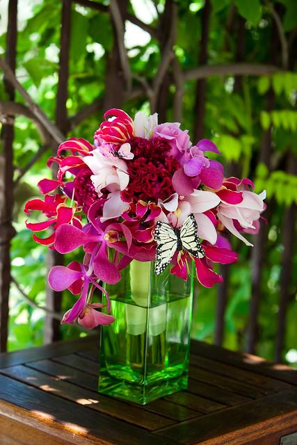 San Martin Wedding Flowers Hot Pink Bridal Bouquet