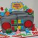 yo gabba boom box cake by debbiedoescakes
