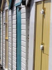Beach huts in Paignton