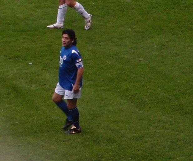 diego maradona playing style - photo #4