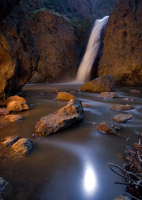 Jump Creek Falls Light...