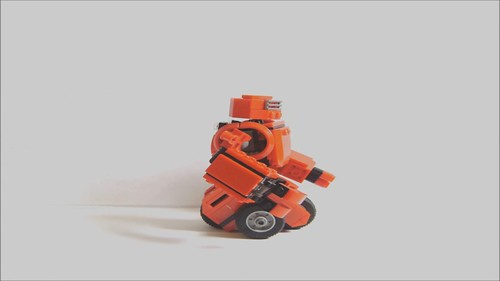 Battle Robot Stopmotion