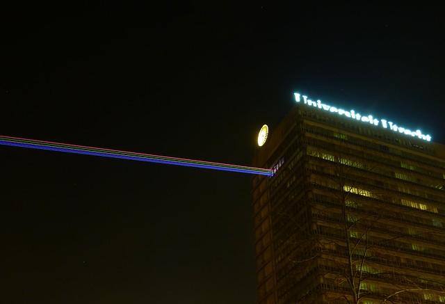 Laser beams from Utrecht University